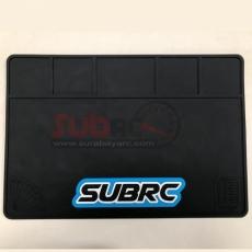 SUBRC, SBRC-PM001 HIGH QUALITY RUBBER PTMAT FOR SETTING BLACK 40X28CM