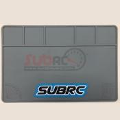 SUBRC, SBRC-PM002 HIGH QUALITY RUBBER PTMAT FOR SETTING GREY 40X28CM