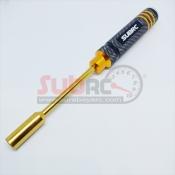 SUBRC, SBRC-TL007  ALUMINIUM NUT DRIVER 7,0 BLACK GOLD