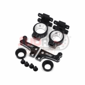 SAMIX, SCX-6012-BK SCX10 HIGH CLEARANCE STEERING KNUCKLE ARM - BLACK