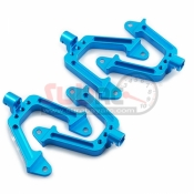 YEAH RACING, SCX10-008BU ALUMINIUM SHOCK HOOPS MOUNT 4PCS FOR AXIAL SCX10