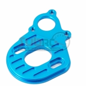 YEAH RACING, SCX10-013BU ALUMINIUM ADJUSTABLE MOTOR PLATE FOR AXIAL SCX10
