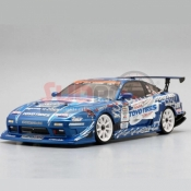 YOKOMO, SD-TY18SA TOYO TIRES DRIFT W/GP SPORTS 180SX BODY SHELL W/ DECAL