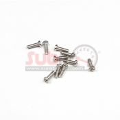 GLRACING, ST0002 STAINLESS STEEL M1,2X4 10 PCS