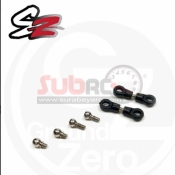 ATOMIC, SZ-36 SZ REAR CAMBER LINK AND BALL HEADS (2SET)