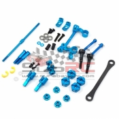 YEAH RACING, TAMC-S02BU DRIVETRAIN & STEERING UOGRADE KIT FOR TAMIYA M05