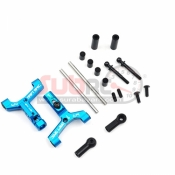 YEAH RACING, TATT-009BU ALUMINIUM TRACK WIDTH ADJUSTABLE FRONT LOWER SUSPENSION ARM FOR TT02 RWD