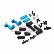 YR TATT-055BU ALUM 7075 PLASTIC ANTI TWEAK BATTERY HOLDER FOR TT01 TT02