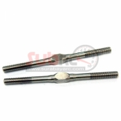 YEAH RACING, TB-0022 3X57MM STAINLESS STEEL TURNBUCKLE 2PCS