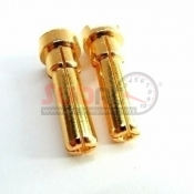 TEAM POWER, TP-C-G4/5 4/5MM GOLDEN PLUG FOR LIPO BATTERY