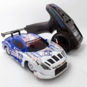 MINIQ, TR-Q1-G06 Q1 CAR 4WD BLUE PATTERN
