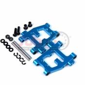 YEAH RACING, TTR-002BU ALUMINIUM REAR LOWER ARM SET FOR TT01/TT01E