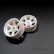 ATOMIC, WA-S602W S6 AWD RIM (N+0.5) WHITE