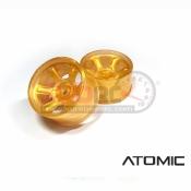 ATOMIC, WA-S608G S6 AWD RIM W+2.5 GOLD