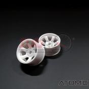 ATOMIC, WA-S608W S6 AWD RIM (W+2.5) WHITE