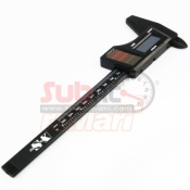 XTRA SPEED, XS-35393 SOLAR DIGITAL CALIPER CARBON FIBER