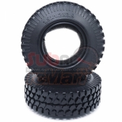 XTRA SPEED, XS-57294 1,9 INCH ROCK TIRES WITH FOAM INSERT FOR RC CRAWLER