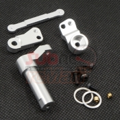 XTRA SPEED, XS-CC25003 ALUMINIUM STEERING SET FOR TAMIYA CC01 SILVER