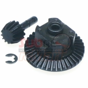 XTRA SPEED, XS-SCX22404 STEEL CROWN GEAR SET FOR FRONT REAR DIFFERENTIAL AXLE FOR AXIAL SCX10