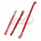 XTRA SPEED, XS-SCX230044RD ALUMINIUM 6061 T6 TIE ROD FOR AXIAL SCX10 II RED