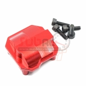 XTRA SPEED, XS-SCX230049RD ALUMINIUM 6061 T6 FRONT/REAR AXIAL COVER FOR AXIAL SCX10 II RED