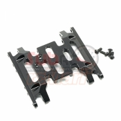 XTRA SPEED, XS-SCX230051BK ALUMINIUM 6061 T6 CHASSIS PLATE FOR AXIAL SCX10 II BLACK