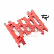 XTRA SPEED, XS-SCX230051RD ALUMINIUM 6061 T6 CHASSIS PLATE FOR AXIAL SCX10 II RED