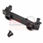 XTRA SPEED, XS-SCX230054BK ALUMINIUM 6061 T6 FRONT BUMPER MOUNT FOR AXIAL SCX10 II BLACK