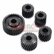XTRA SPEED, XS-SCX230081 HEAVY DUTY STEEL HELICAL PINEAPPLE TRANSMISSION SET FOR AXIAL SCX10 II