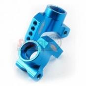 YEAH RACING, XV01-007BU REAR HUB/KNUCKLE ARM ALUMINIUM BLUE FOR TAMIYA XV01