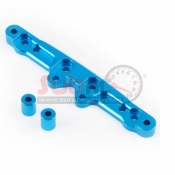 YEAH RACING, XV01-008BU FRONT SHOCK DAMPER TOWER ALUMINIUM BLUE FOR TAMIYA XV-01