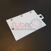 ATOMIC, Y--147-WB MINI TRACK CURBS 0 DEGREE WHITE  5 PCS