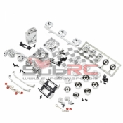 YEAH RACING, YA-0255SV BODY ACCESSORIES ALL IN ONE PACK 8 TYPES TOOL SET