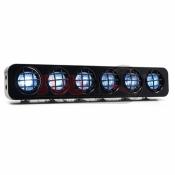 YEAH RACING, YA-0384 1/10 RC ROCK CRAWLER ROOF 6 WHITE LED LIGHT KIT SET