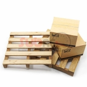 YEAH RACING, YA-0399 1/10 ROCK CRAWLER TRUCK ACCESSORY WOODEN LOADING PALLET