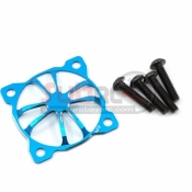 YEAH RACING, YA-0475BU 3D CLAWS 30X30 FAN PROTECTOR BLUE