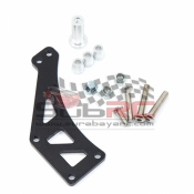 YEAH RACING, YA-0515 STEEL SPARE TIRE CARRIER FOR TAMIYA CC01 RC4WD D90 D110 AXIAL SCX10