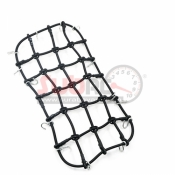 YEAH RACING, YA-0560BK 1/10 RC CRAWLER SCALE ACCESSORY LUGGAGE NET  200MMX110MM BLACK