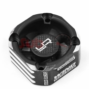 YEAH RACING, YA-0576BK ALUMINIUM CASE 30MM BOOSTER COOLING FAN BLACK