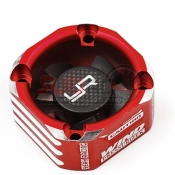 YA-0576RD ALUMINIUM CASE 30MM BOOSTER COOLING FAN RED