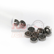 YEAH RACING, YB6015OS/10 RC OPEN BEARING (6X10X2,5) 10PCS