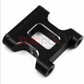 YEAH RACING, YKYD-020BK ALUMINIUM TOPDECK MOUNT FOR YOKOMO YD2S BLACK