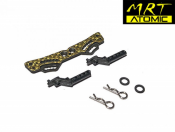 ATOMIC, MRTP-UP07 CARBON REAR SHOCK STAU AND BODY POST